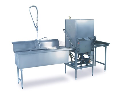 AFB with Table: Bakery Dish-Machine, Low-Temp